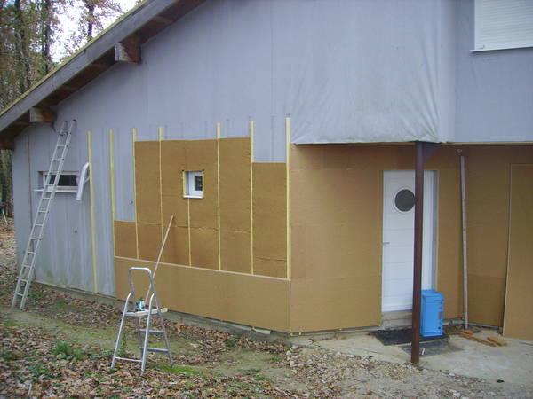 coûte une isolation extérieure d'une maison